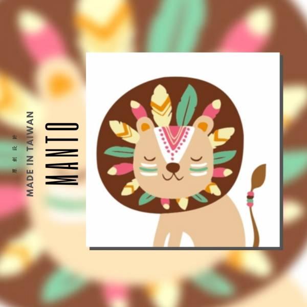 部落獅王|MANTO創意數字油畫(2020) 獅子,旅行,數字油畫,manto,台灣數字油畫,數字油畫批發,數字油畫團購
