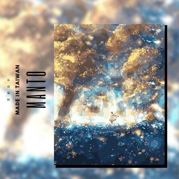 迷幻星河|MANTO創意數字油畫(4050M) 巴黎,風景畫,數字油畫,manto,數字畫