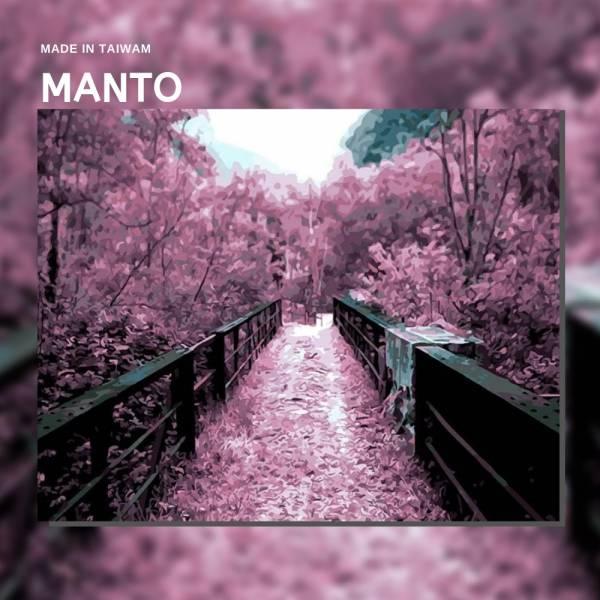 紫橋小徑|MANTO創意數字油畫(4050M) 紫橋小徑,風景畫,數字油畫,manto,台灣數字油畫,數字油畫批發,倫敦