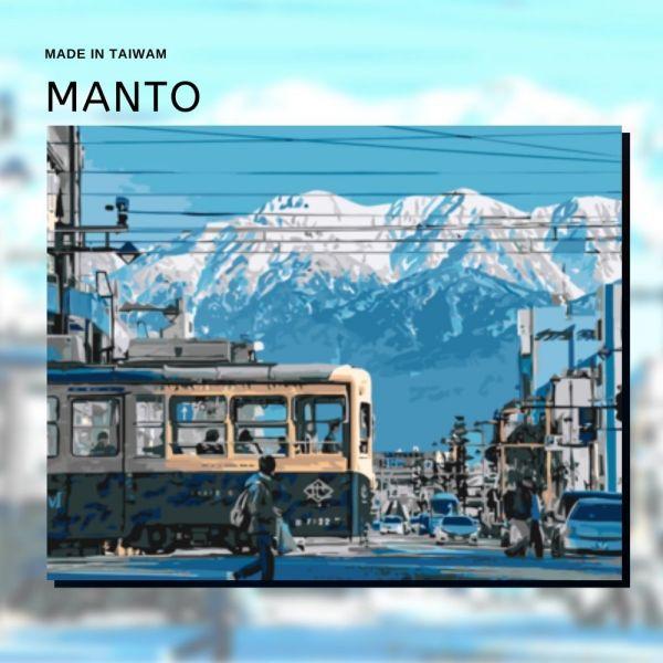 富山散策|MANTO創意數字油畫(4050) 富山市,風景畫,數字油畫,manto,數字畫
