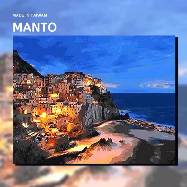 蒙馬特海岸|MANTO創意數字油畫(4050M) 蒙馬特,風景畫,數字油畫,manto,數字畫