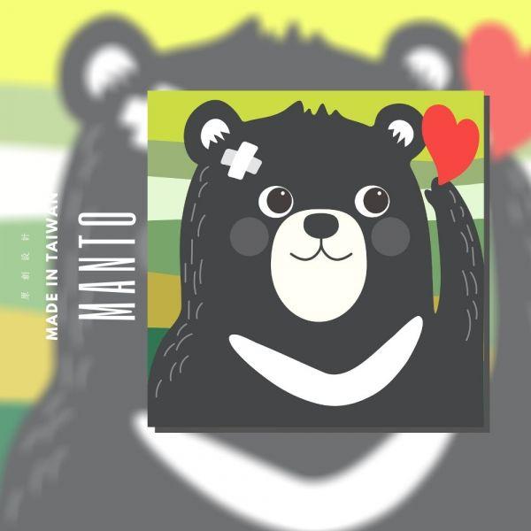 台灣黑熊|MANTO創意數字油畫(2020) 犀牛,旅行,數字油畫,manto,台灣數字油畫,數字油畫批發,數字油畫團購