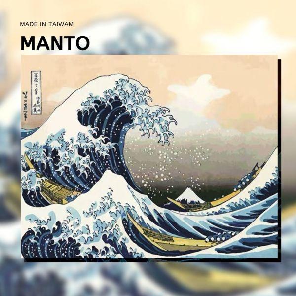 浮世繪-神奈川沖浪裏|MANTO創意數字油畫(4050M) 海岸,風景畫,數字油畫,manto,數字畫
