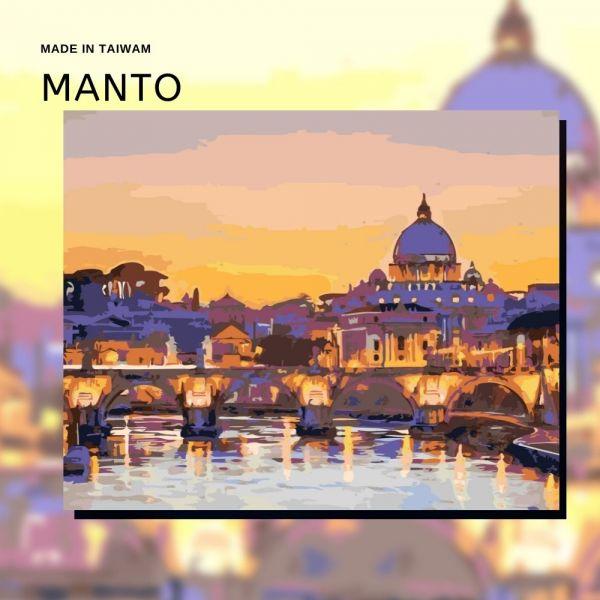 羅馬夜景|MANTO創意數字油畫(4050) 羅馬,風景畫,數字油畫,manto,數字畫