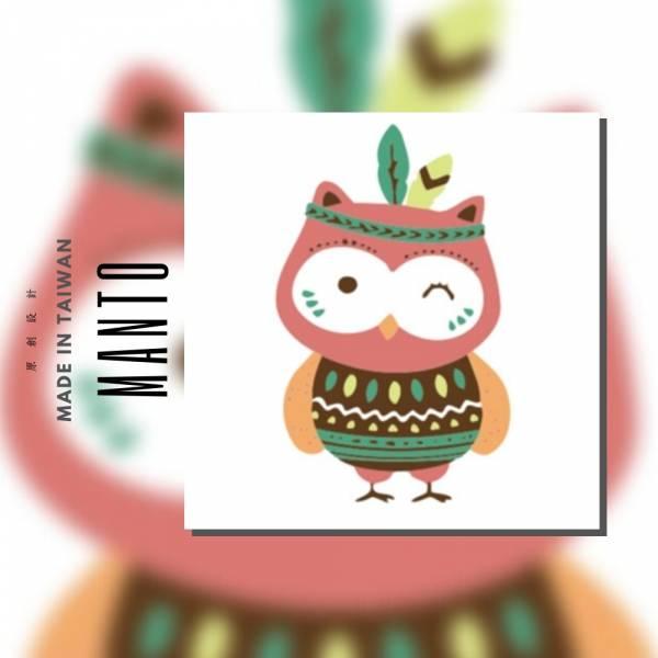 部落貓頭鷹1|MANTO創意數字油畫(2020) 貓頭鷹,數字油畫,manto,台灣數字油畫,數字油畫批發,數字油畫團購