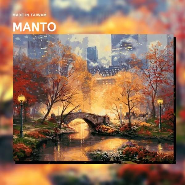 夢迴曼哈頓|MANTO創意數字油畫(4050) 曼哈頓,風景畫,數字油畫,manto,數字畫