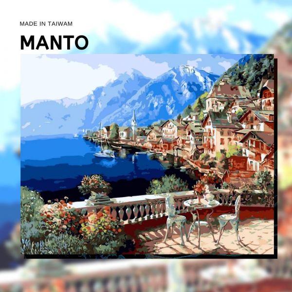 奧地利風光|MANTO創意數字油畫(4050M) 海岸,風景畫,數字油畫,manto,數字畫