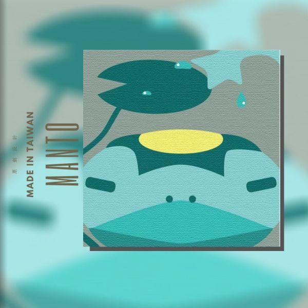 河童 MANTO創意數字油畫(2020) 河童,萬聖節,數字油畫,manto,台灣數字油畫,數字油畫批發,數字油畫團購