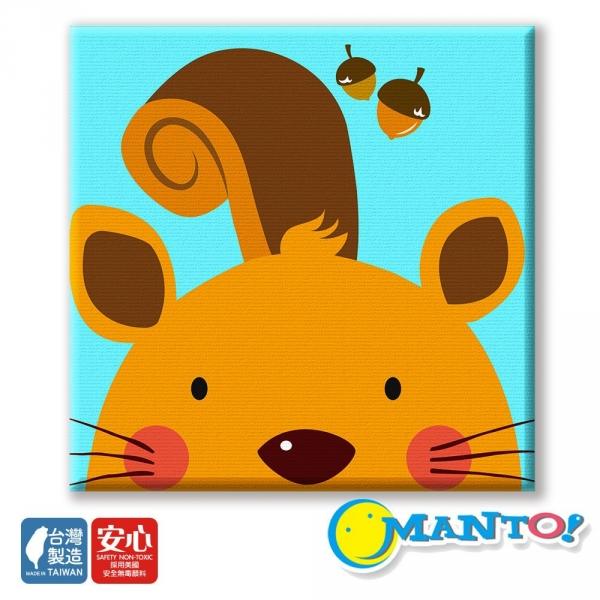 松鼠|MANTO創意數字油畫(2020) 松鼠,簡單,數字油畫,manto,台灣數字油畫,數字油畫批發,數字油畫團購