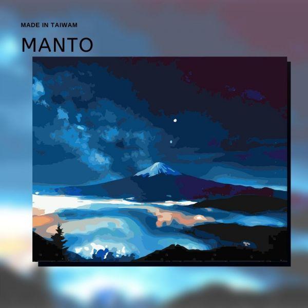 富士星空|MANTO創意數字油畫(4050) 富士山,風景畫,數字油畫,manto,數字畫