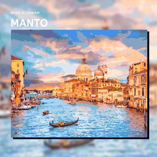 擺渡威尼斯【現貨】|MANTO創意數字油畫(4050M) 威尼斯,風景畫,數字油畫,manto,數字畫