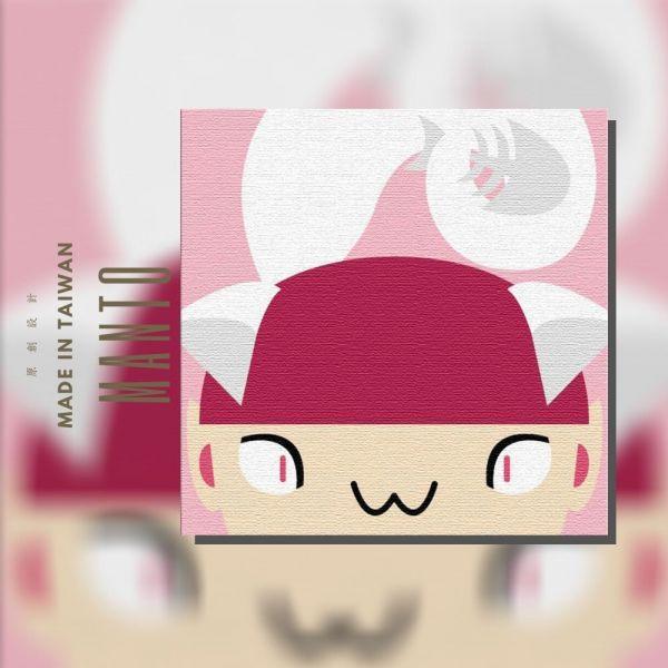 貓女 MANTO創意數字油畫(2020) 雪女,萬聖節,數字油畫,manto,台灣數字油畫,數字油畫批發,數字油畫團購
