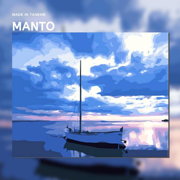 恬靜海岸|MANTO創意數字油畫(4050M) 海景,風景畫,數字油畫,manto,台灣數字油畫,數字油畫批發,倫敦
