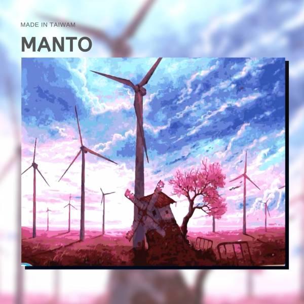 紫色微風|MANTO創意數字油畫(4050M) 紫色微風,風景畫,數字油畫,manto,數字畫