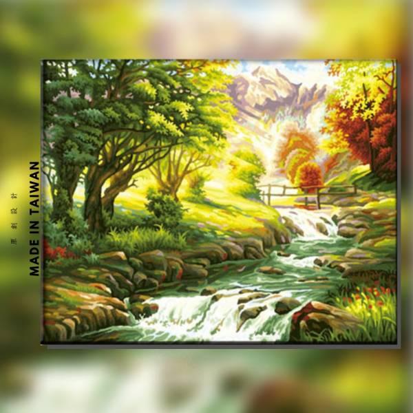 仙境 |MANTO創意數字油畫(4050M) 風水畫,風景畫,數字油畫,manto,台灣數字油畫,數字油畫批發,數字油畫團購