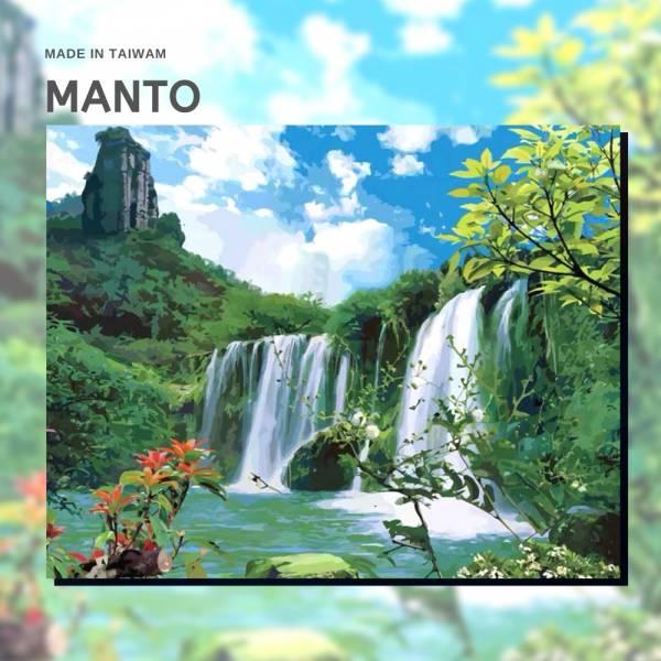 綠境仙地【現貨】|MANTO創意數字油畫(4050M) 綠境仙地,風景畫,數字油畫,manto,數字畫