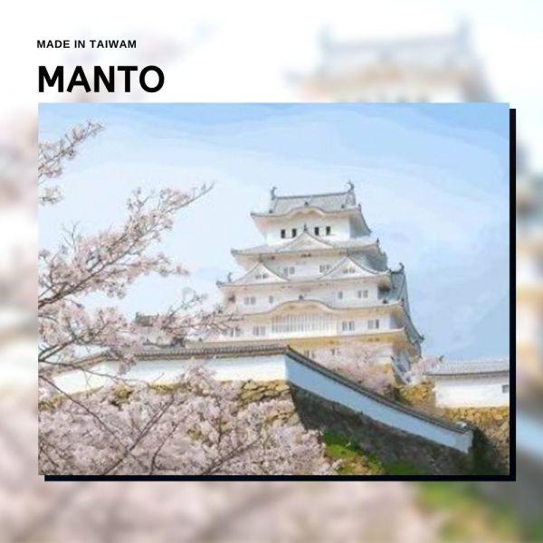 櫻花姬路城【現貨】|MANTO創意數字油畫(4050M) 櫻花,姬路城,風景畫,數字油畫,manto,數字畫
