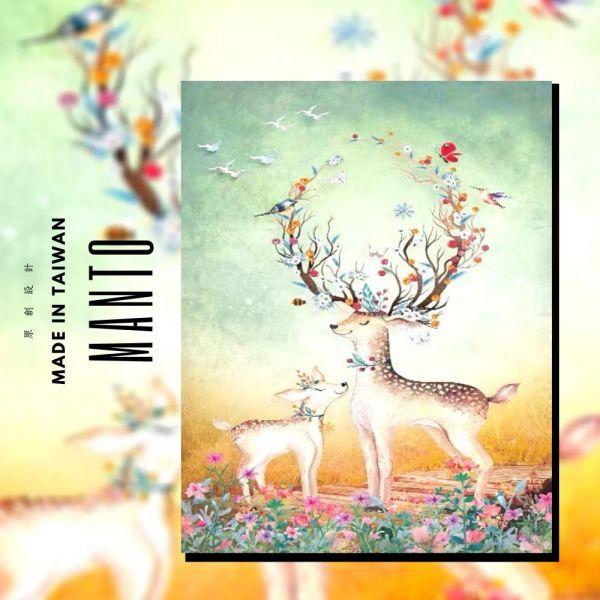 麋鹿.迷路【現貨】|MANTO創意數字油畫(4050M) 麋鹿,布置畫,數字油畫,manto,數字畫