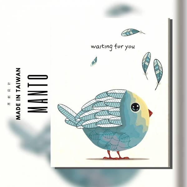 等待你|MANTO創意數字油畫(4050) 北歐風,鹿,數字油畫,manto,台灣數字油畫,數字油畫批發,數字油畫團購