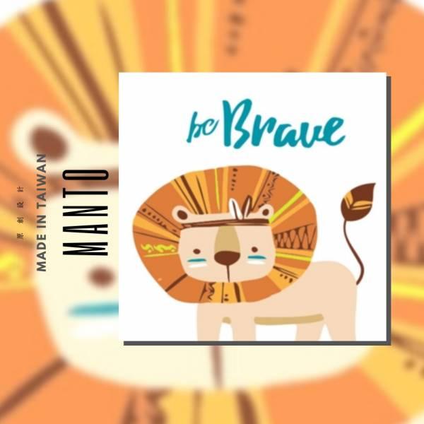 部落獅子|MANTO創意數字油畫(2020) 獅子,旅行,數字油畫,manto,台灣數字油畫,數字油畫批發,數字油畫團購