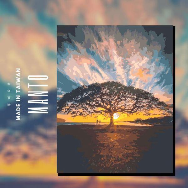 生命樹|MANTO創意數字油畫(4050) 生命樹,風景畫,數字油畫,manto,數字畫
