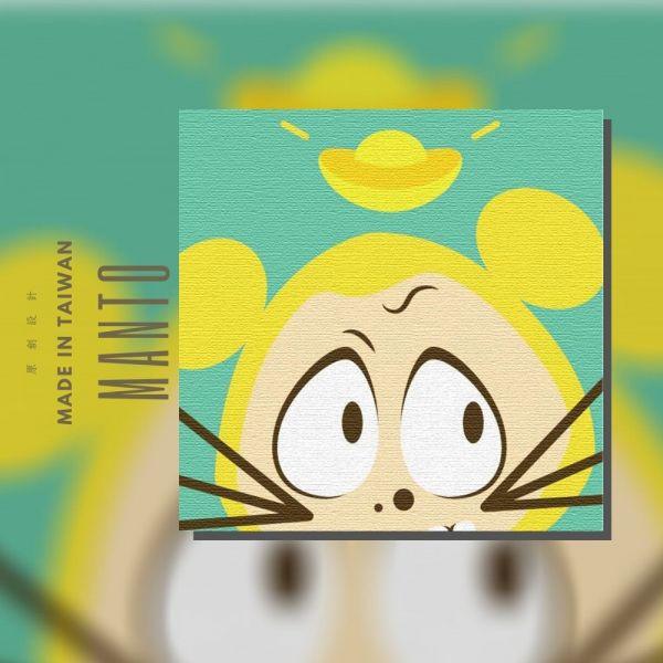 鼠男|MANTO創意數字油畫(2020) 鼠男,萬聖節,數字油畫,manto,台灣數字油畫,數字油畫批發,數字油畫團購