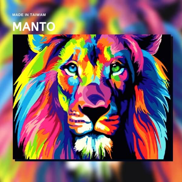 彩舞獅王|MANTO創意數字油畫(4050M) 彩舞獅王,風景畫,數字油畫,manto,數字畫