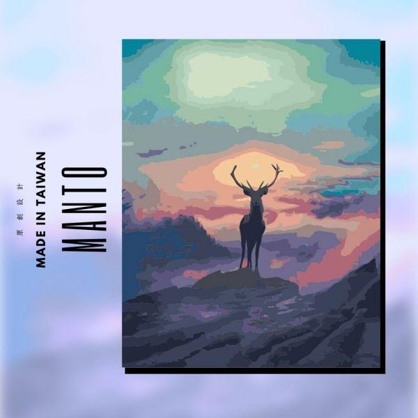 夢想鹿|MANTO創意數字油畫(4050M) 鹿,數字油畫,manto,數字畫
