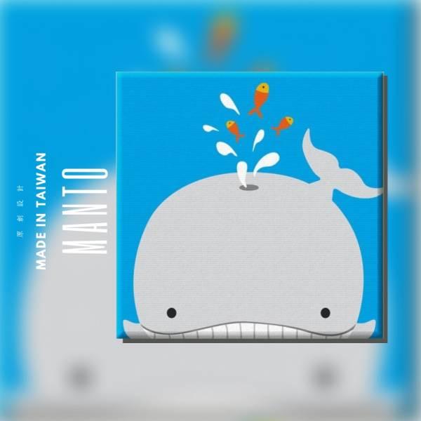 鯨魚【現貨】|MANTO創意數字油畫(2020) 鯨魚簡單,數字油畫,manto,台灣數字油畫,數字油畫批發,數字油畫團購