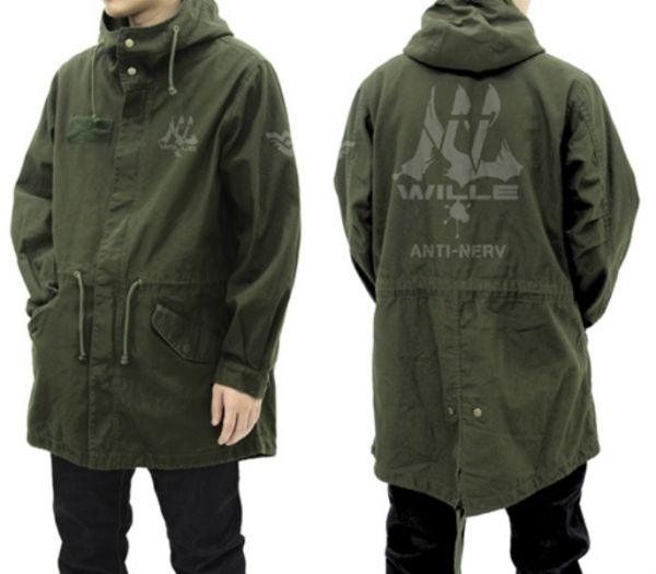 COSPA 新世紀福音戰士 WILLE M-51夾克外套 苔綠色  COSPA,新世紀福音戰士,NERV,M-51,夾克外套,苔綠色,EVA,