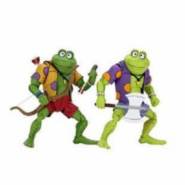 NECA 忍者龜 龐克蛙 成吉思汗 & 拉斯普丁 7吋可動公仔 NECA,忍者龜,龐克蛙,成吉思汗,&,拉斯普丁,7吋,可動,公仔,