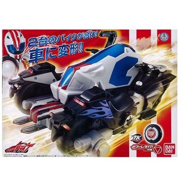 BANDAI / 假面騎士Drive / DX 馬赫機車+魔進機車 合體四輪 BANDAI,假面騎士Drive,DX馬赫機車,魔進機車,合體四輪