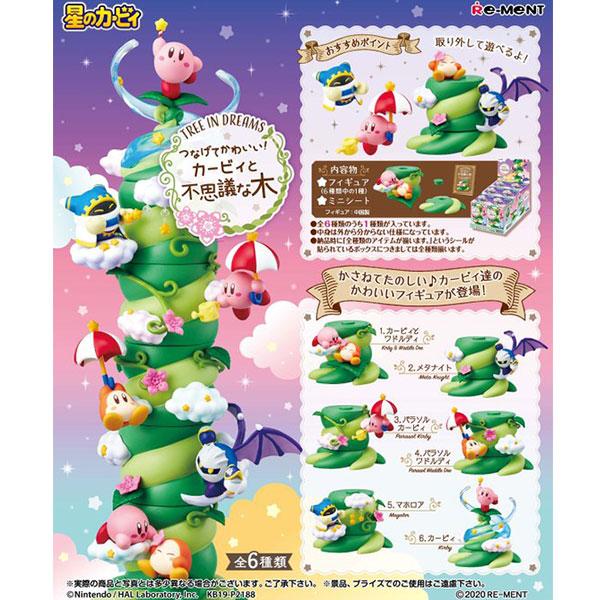 Re-ment 盒玩 星之卡比組合神奇樹 全6種 一中盒販售 Re-ment,盒玩,星之卡比,神奇樹
