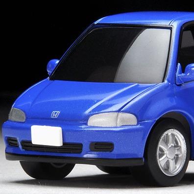 TOMYTEC / Q ZERO 迴力賽車 / Z-61b / 本田 HONDA Civic SiR-II 青 TOMYTEC,Q ZERO,迴力賽車,Z-62a,本田,HONDA Civic Type R(FK8) 白