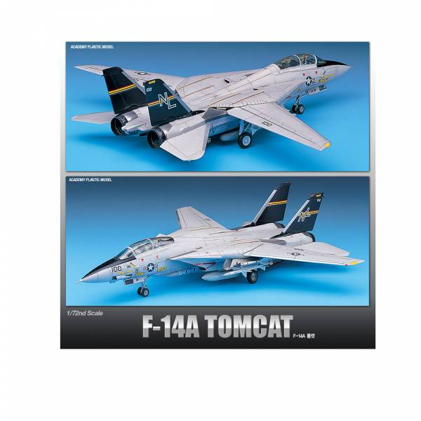 Academy 愛德美 1/72 F-14A TOMCAT 熊貓式戰鬥機 組裝模型 Academy 愛德美, 1/72, A-10A攻擊機, 組裝模型