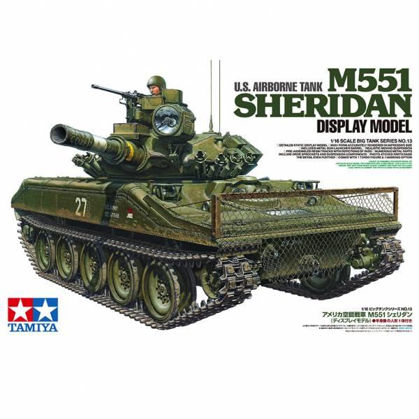 田宮 Tamiya 1/16 #36213 美軍 空降戰車 謝里登 US Airborne Tank M551 Sheridan 組裝模型 田宮, TAMIYA, 組裝模型,美國陸軍, 美軍, 1/16, 36213, sheridan, M551, 空降戰車