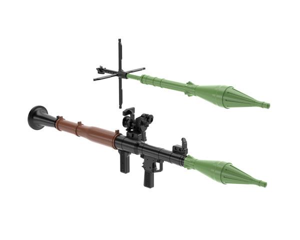 Tomytec 1/12 迷你武裝 LA061 RPG7 火箭推進榴彈 組裝模型 TOMYTEC,迷你武裝,1/12,迷你武裝,LA061,RPG7,火箭推進榴彈