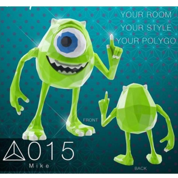 千值練 / POLYGO / #015 / 怪獸電力公司 / 大眼仔 / 麥克・華斯基 Disney 千值練, POLYGO,怪獸電力公司,大眼仔,麥克・華斯基