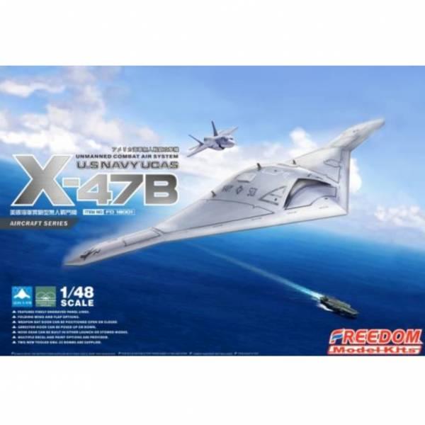 Freedom / 1/48 / 美國海軍實驗型無人戰鬥機 / U.S NAVY UCAS X-47B  組裝模型 Freedom,1/48,美國海軍實驗型無人戰鬥機,U.S NAVY UCAS X-47B