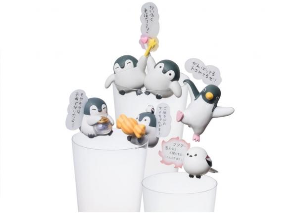 Gray Parka Service / 盒玩 / 正能量企鵝 / Koupen Chan / 杯緣系列 vol.2 / 全5種 / 一中盒8入販售 Gray Parka Service,盒玩,正能量企鵝,Koupen Chan,杯緣子,vol.2,全5種,一中盒8入販售