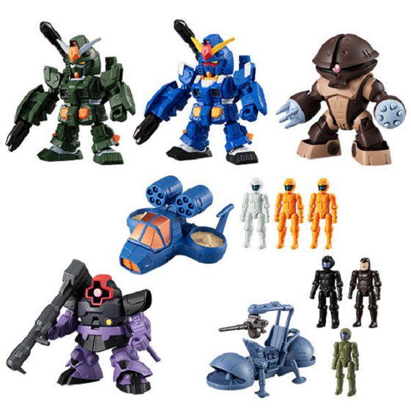 BANDAI 盒玩 機動戰士鋼彈 微型戰場5 一中盒10入販售 BANDAI,盒玩,機動戰士鋼彈 微型戰場5