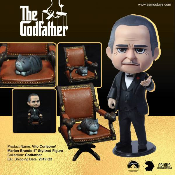 Asmus Toys Qbitz 教父 維托·柯里昂 馬龍 白蘭度 The Godfather Vito Corleone  Marlon Brando 微可動人偶 Asmus Toys,Qbitz,教父,維托·柯里昂,馬龍白蘭度,The Godfather,Vito Corleone,Marlon Brando