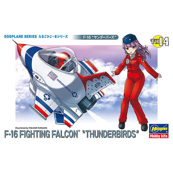 Hasegawa / 蛋機 / 美國空軍雷鳥飛行表演隊 F-16戰隼戰鬥機 組裝模型 Hasegawa,蛋機,美國空軍雷鳥飛行表演隊,F-16戰隼戰鬥機,組裝模型