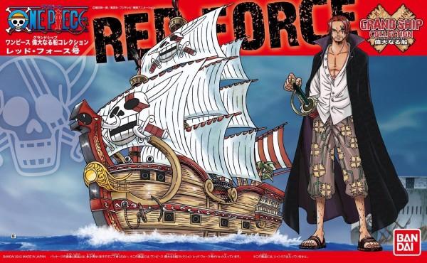 [7月再販] BANDAI 海賊王 GRAND SHIP COLLECTION  04 紅色勢力號 紅髮海賊團 GRAND SHIP COLLECTION ,海賊王,艾斯,黑桃海賊團