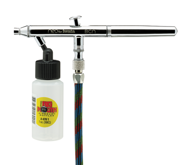 IWATA 岩田 0.5mm 虹吸式雙動式噴筆 NEO HP-BCN(N 2000) IWATA,岩田,0.5mm,虹吸式雙動式噴筆,NEO,HP-BCN,N 2000