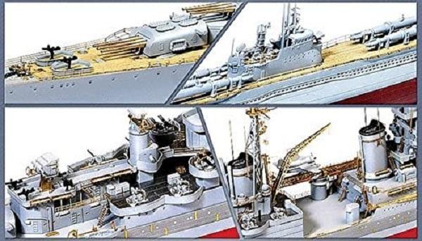 Academy 愛德美 1/350 美國 CA-35 印第安納波利斯 重巡洋艦 組裝模型 Academy,愛德美, 1/350, 美國, CA-35, 印第安納波利斯, 重巡洋艦, 組裝模型