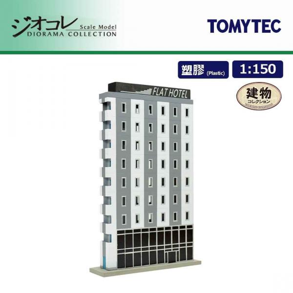 TOMYTEC / 1/150 / 建築物系列164 薄型B 組裝模型 TOMYTEC,1/150,建築物系列, 薄型B
