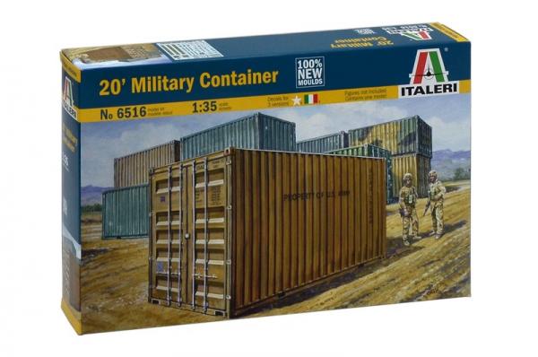 ITALERI 義大利模型 1/35 NO.6516 20' Military Container  20呎貨櫃 組裝模型 ITALERI,義大利模型,1/35,NO.6516,20' Military Container,20呎貨櫃,組裝模型