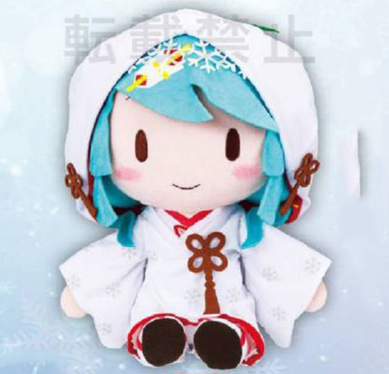 SEGA / 景品 / 初音未來 / 雪初音2013 / 絨毛玩偶 / 27cm SEGA,景品,初音未來,雪初音2013,絨毛玩偶