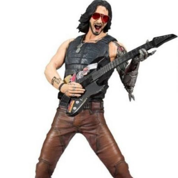 McFarlane Toys 麥法蘭 12吋 電馭叛客2077 Johnny 雕像麥法蘭 12吋 電馭叛客2077 Johnny 基努李維 Keanu Reeves 雕像 McFarlane Toys,麥法蘭,12吋,電馭叛客2077,Johnny,雕像